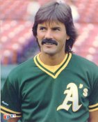Dennis Eckersley LIMITED STOCK Glossy Card Stock Oakland Athletics 8X10 Photo