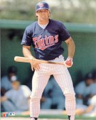 Gary Gaetti Minnesota Twins Glossy Card Stock LIMITED STOCK 8X10 Photo