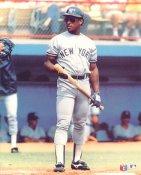 Rickey Henderson Glossy Card Stock New York Yankees 8X10 Photo
