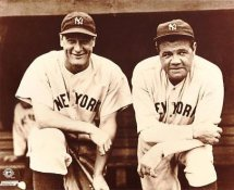 Lou Gehrig & Babe Ruth LIMITED STOCK New York Yankees 8X10 Photo