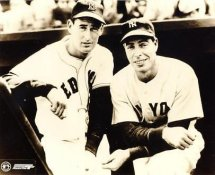 Ted Williams & Joe Dimaggio LIMITED STOCK Boston Red Sox 8x10 Photo