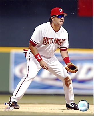 Vinny Castilla LIMITED STOCK Washington Nationals 8X10 Photo