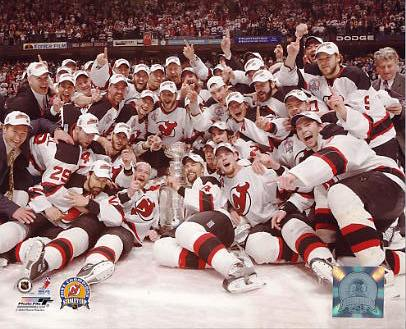 2003 Devils Stanley Cup Champs New Jersey LIMITED STOCK 8x10 Photo
