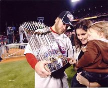 Eric Bruntlett LIMITED STOCK World Series 2008 Phillies 8X10 Photo