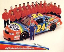 Jeff Gordon & The Rainbow Warriors LIMITED STOCK 8x10 Photo