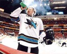 Dany Heatley LIMITED STOCK San Jose Sharks 8x10 Photo