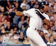 Bernie Williams LIMITED STOCK 1998 World Series Game 2  New York Yankees 8X10