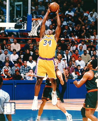 Shaq O'Neal LIMITED STOCK Los Angeles Lakers 8X10 Photo