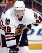 Michael Blunden LIMITED STOCK Chicago Blackhawks 8X10 Photo
