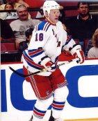 Adam Hall LIMITED STOCK New York Rangers 8x10 Photo