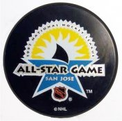 Sharks 1997 Puck All-Star Game Hockey Puck