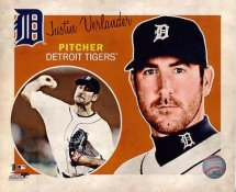 Justin Verlander Detriot Tigers 8X10 Photo