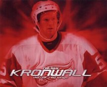 Niklas Kronwall LIMITED STOCK Red Wings 8x10 Photo