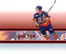 Geoff Platt LIMITED STOCK Erie Otters 8x10 Photo