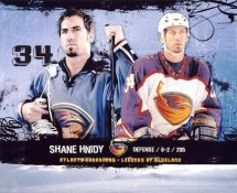 Shane Hnidy LIMITED STOCK Atlanta Thrashers 8x10 Photo