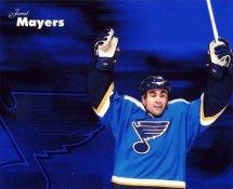 Jamal Mayers LIMITED STOCK St. Louis Blues 8x10 Photo