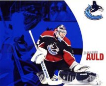 Alex Auld LIMITED STOCK Vancouver Canucks 8x10 Photo