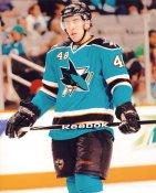 Steven Zalewsky LIMITED STOCK San Jose Sharks 8x10 Photo