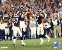 John Elway LIMITED STOCK Celebrate Super Bowl Denver Broncos 8X10 Photo