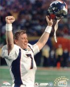 John Elway LIMITED STOCK Back To Back Champions Denver Broncos 8X10 Photo