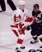 Jiri Hudler LIMITED STOCK Red Wings 8x10 Photo