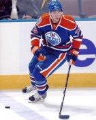 Marc Pouliot LIMITED STOCK Edmonton Oilers 8X10 Photo