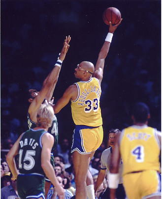 Kareem Abdul-Jabbar SUPER SALE Los Angeles Lakers 8x10 Photo