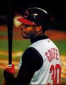 Ken Griffey Jr SUPER SALE Glossy Card Stock Cincinnati Reds 11x14 Photo