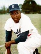 Jackie Robinson SUPER SALE Glossy Card Stock Brooklyn Dodgers 11x14 Photo