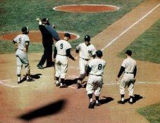 Mickey Mantle, Roger Maris, Yogi Berra SUPER SALE Glossy Card Stock New York Yankees 11X14 Photo