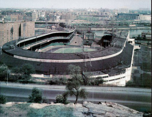 Polo Grounds SUPER SALE Glossy Card Stock New York Giants 11X14 Photo