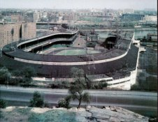 Polo Grounds LARGE 11x14 Glossy Card Stock New York Giants 11X14 Photo