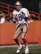 Joe Montana SUPER SALE Glossy Card Stock San Francisco 49ers 11X14 Photo