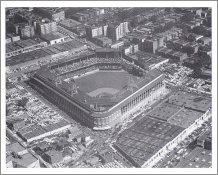 Ebbets Field  Card Stock 11X14 Photo