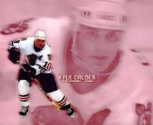 Kyle Calder LIMITED STOCK Chicago Blackhawks 8X10 Photo