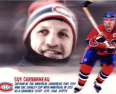 Guy Carbonneau LIMITED STOCK Montreal Canadiens 8x10 Photo