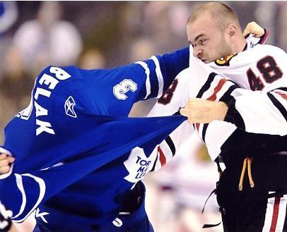 Wade Belak LIMITED STOCK Toronto Maple Leafs 8x10 Photo