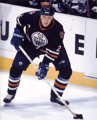 Eric Brewer LIMITED STOCK Edmonton Oilers 8x10 Photo