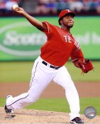 Neftali Feliz Texas Rangers 8X10 Photo