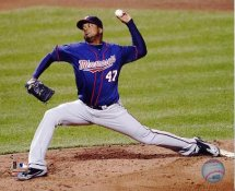 Francisco Liriano Minnesota Twins 8X10 Photo