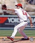 Danny Haren Anaheim Angels 8X10 Photo