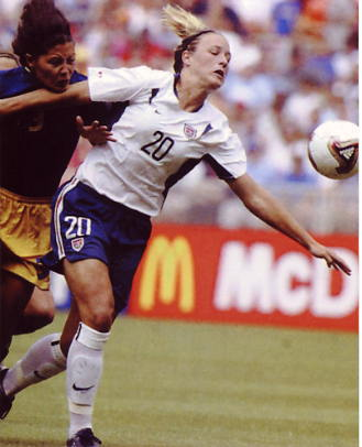 Abby Wambach Soccer 8x10 Photo