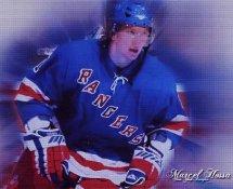 Marcel Hossa LIMITED STOCK New York Rangers 8x10 Photo