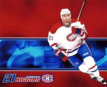 Christopher Higgins LIMITED STOCK Montreal Canadiens 8x10 Photo