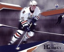 Ales Hemsky LIMITED STOCK Edmonton Oilers 8x10 Photo