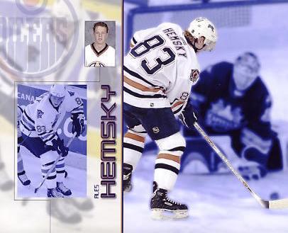 Ales Hemsky LIMITED STOCK Edmonton Oilers 8x10 Photo
