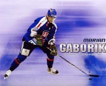 Marian Gaborik LIMITED STOCK Team Slovakia 8x10 Photo