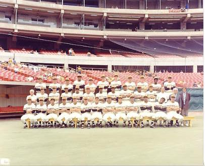 Pirates 1971 World Series Champs Pittsburgh Pirates LIMITED STOCK 8X10 Photo