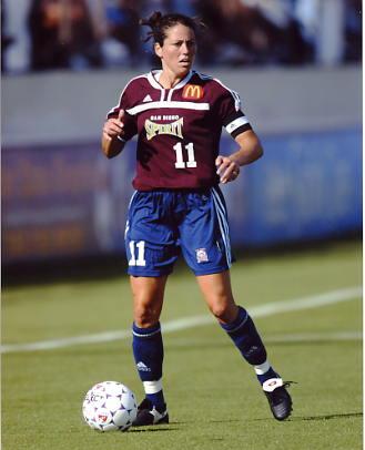 Julie Foudy Soccer 8x10 Photo
