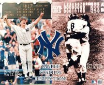 David Wells & Don Larsen LIMITED STOCK Perfect Games New York Yankees 8X10 Photo